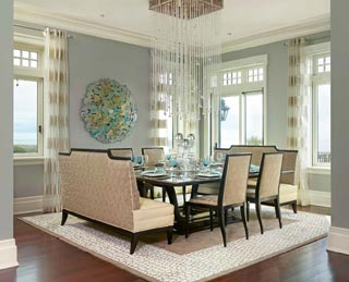 Spaces of Distinction - Dining Room