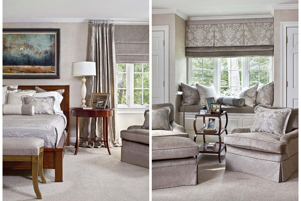 Spaces of Distinction Bedroom and Living Room